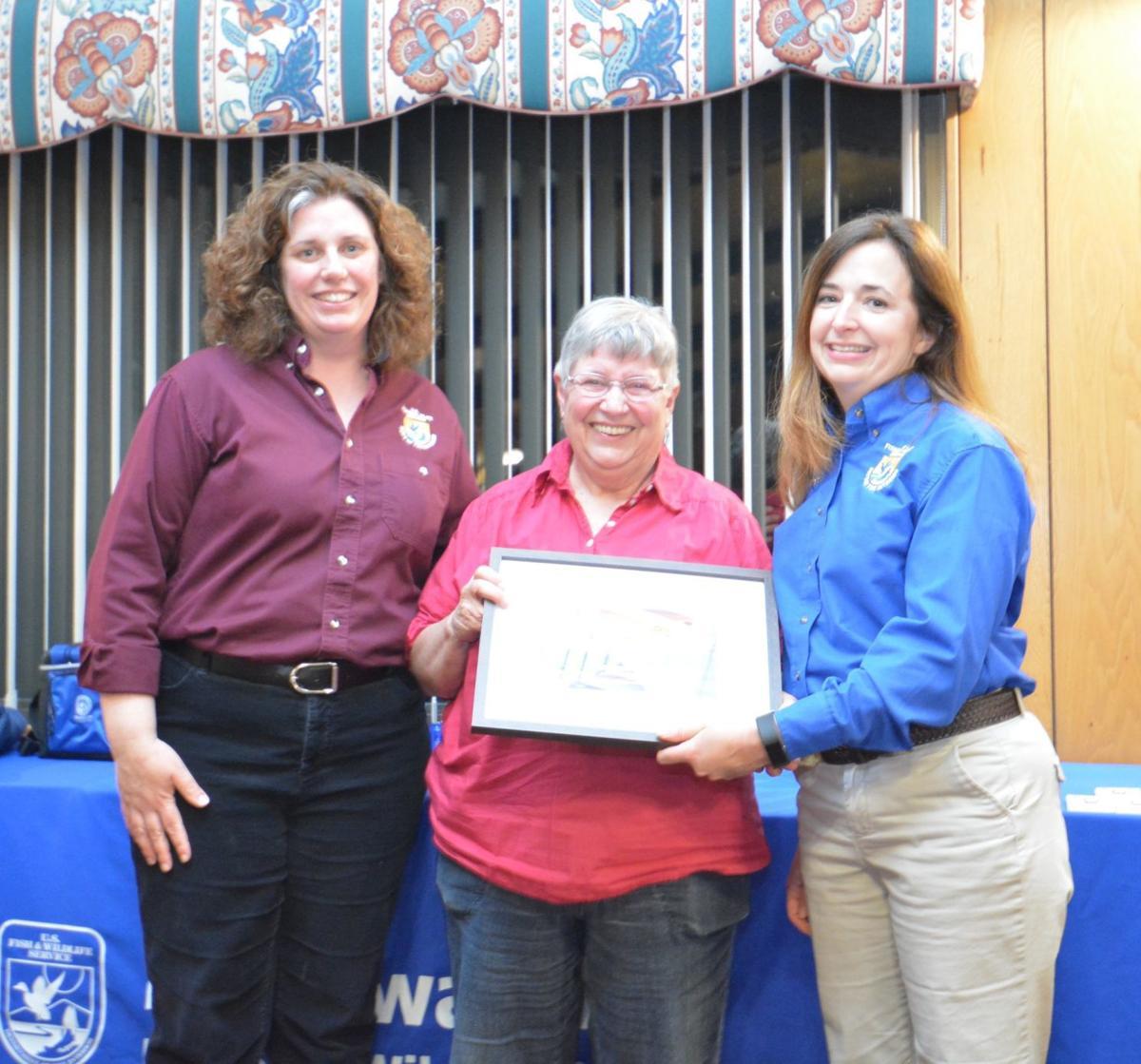 U.S. Fish and Wildlife recognizes Blackwater volunteers