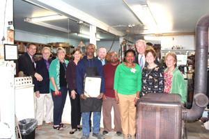 Franchot visits historic Easton business
