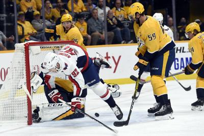 Capitals Predators Hockey