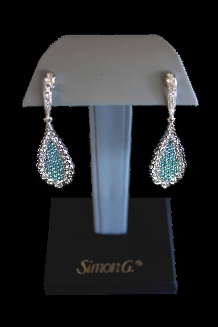 The Divine Tourmaline Dangle Earrings