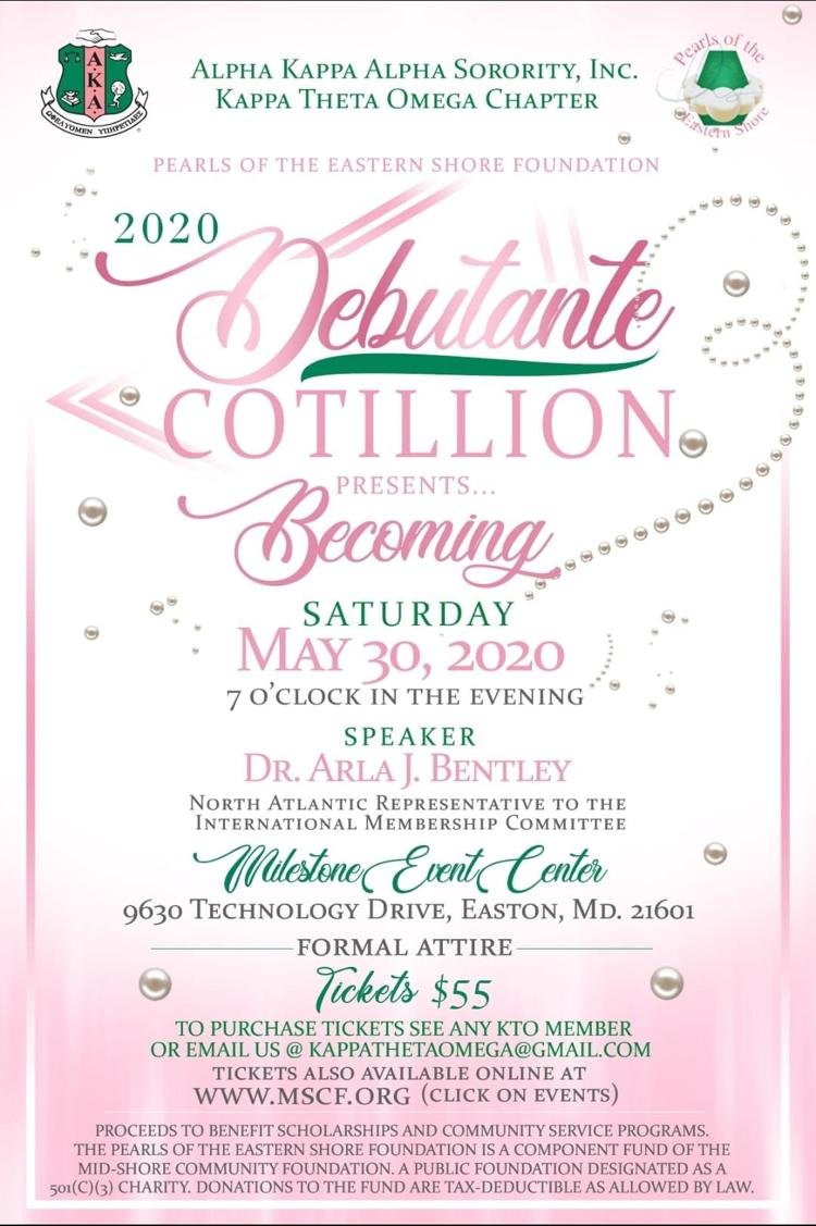 Alpha Kappa Alpha-KTO/Pearls of the Eastern Shore Debutante Cotillion