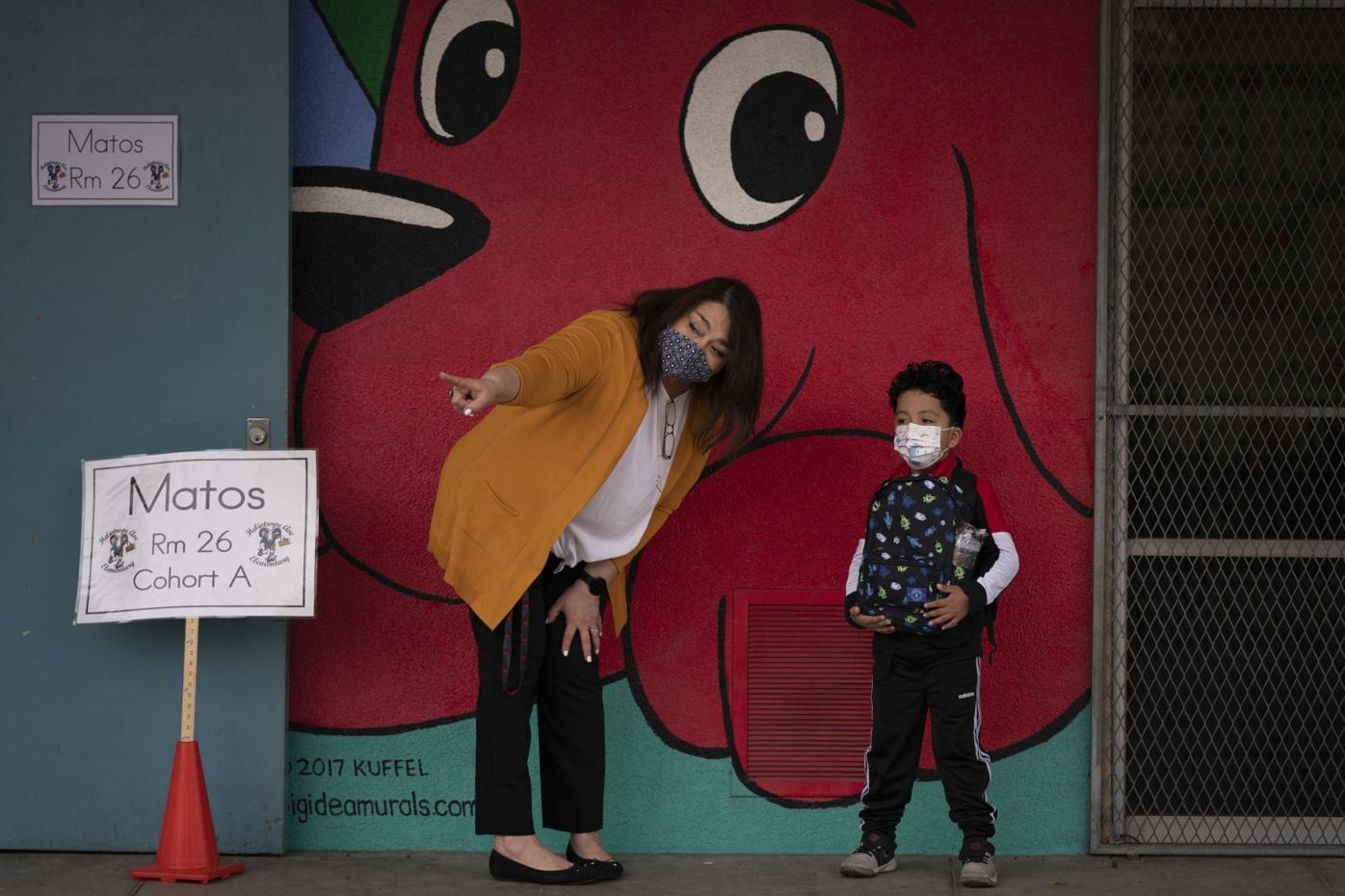 Virus Outbreak-California Schools