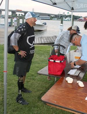 Veterans enjoy morning of fishing