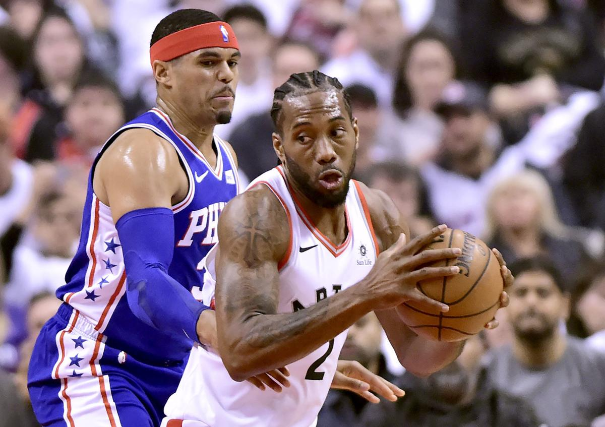 Leonard, George officially join the Clippers