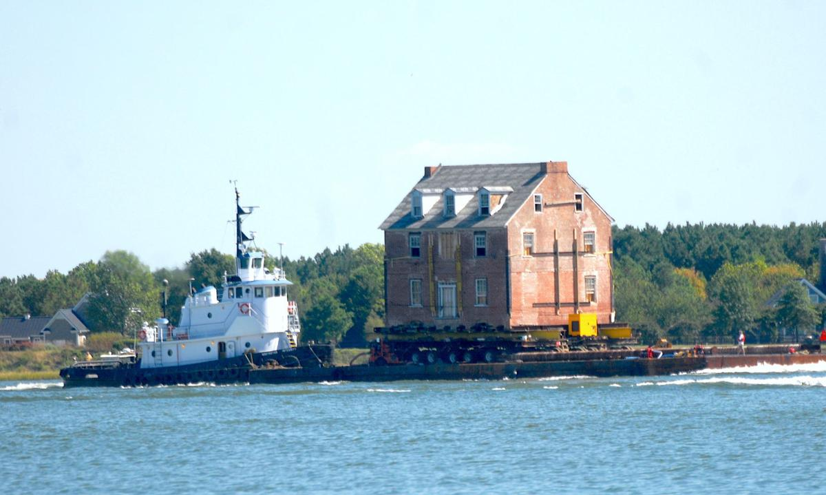 Galloway mansion goes to sea