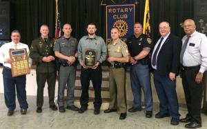 Mears is Rotary's Law Officer of Year
