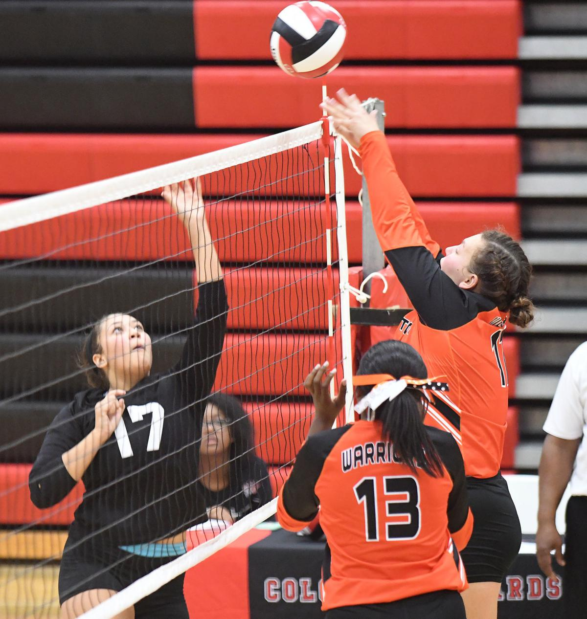 Warriors Colonels volleyball