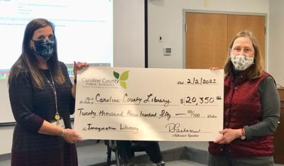 Caroline schools raise more than $20,000 for Imagination Library