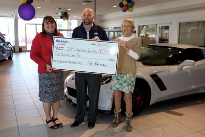 Hertrich Chevy Buick GMC of Easton sponsors Education Foundation event