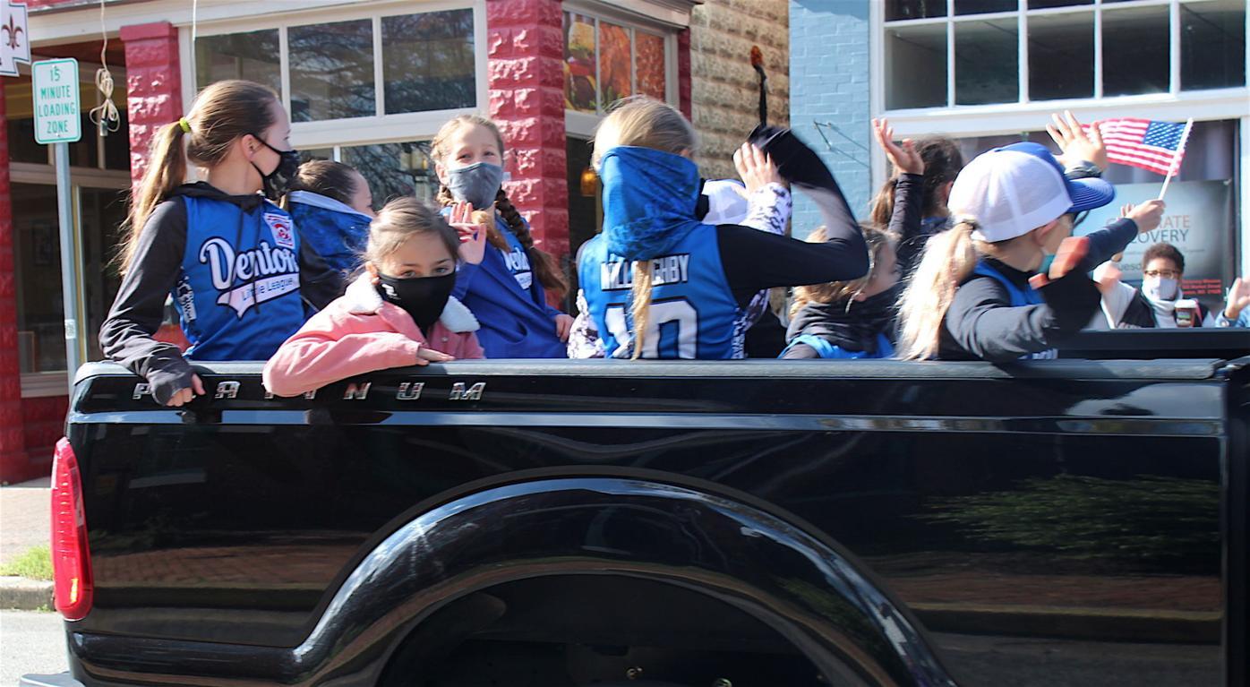 Denton Little League Parade 2021