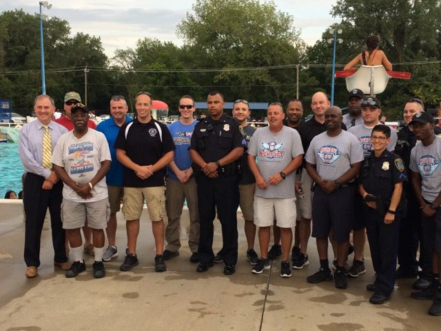 Cambridge Police, Dorchester Public Pool host National Night Out