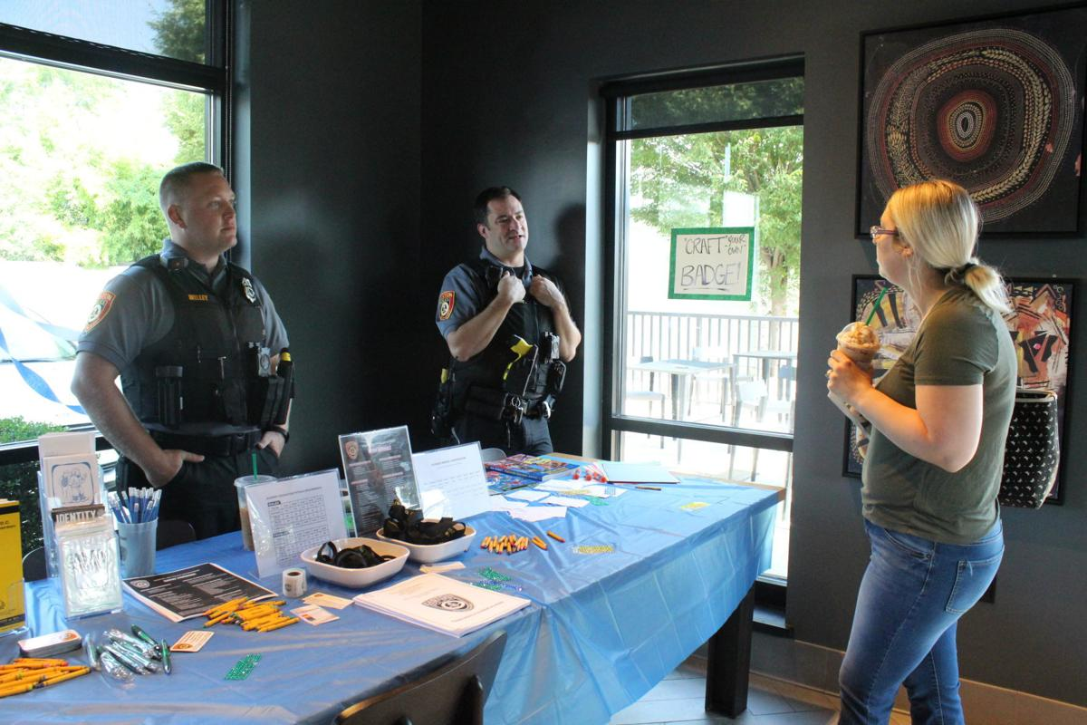 Epd Hosts Coffee With A Cop At Starbucks Local Stardem Com