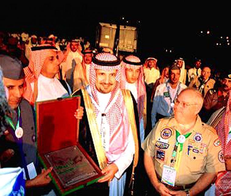 Hyman in Saudi Arabia