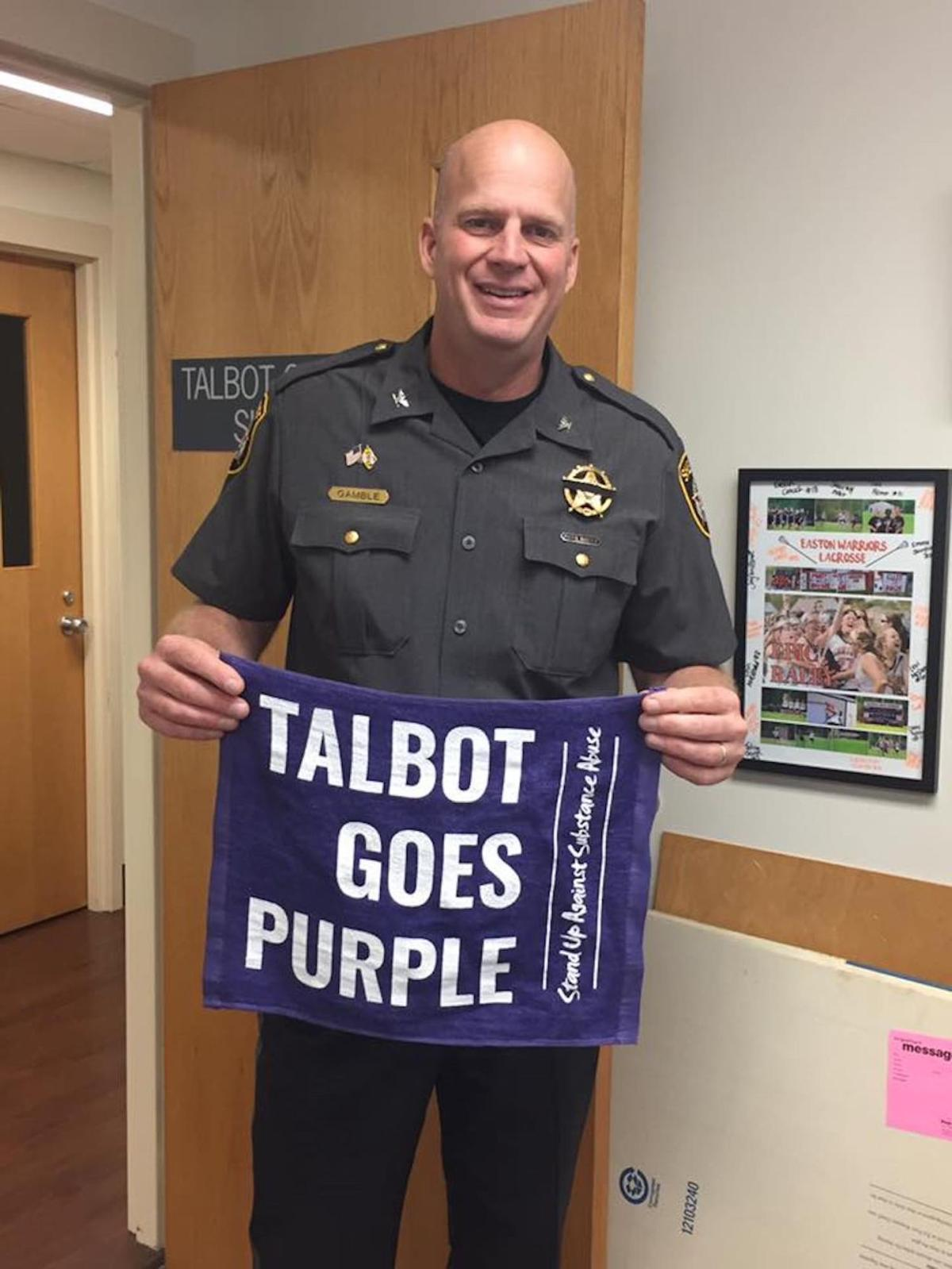Players sport purple for TGP