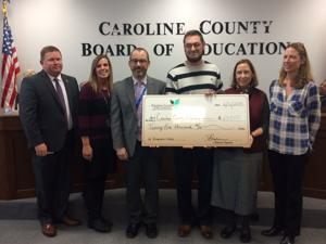 CCPS donates $25,000 to Imagination Library