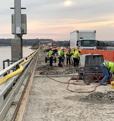 Chesapeake Bay Bridge work