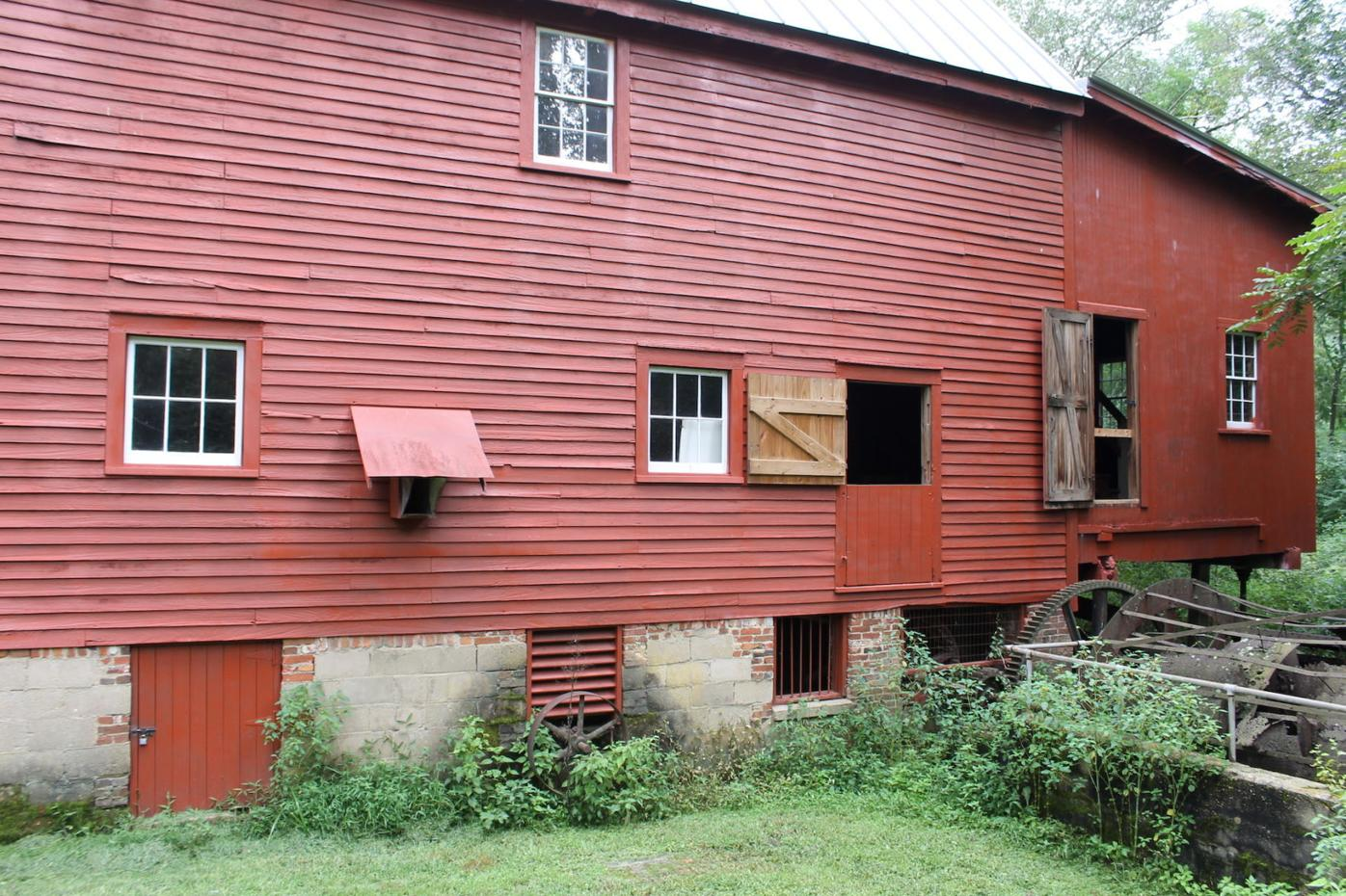 Linchester Mill rear side