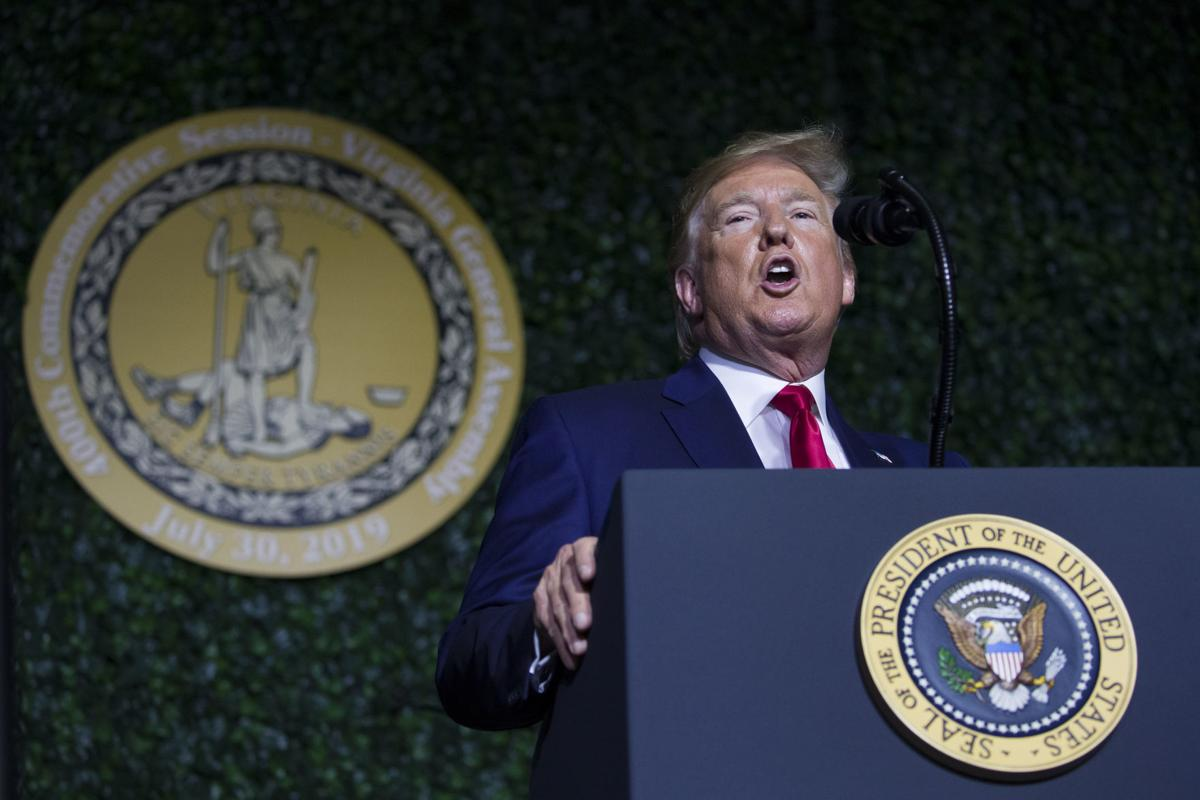 Trump hails 'righteous cause of American self-government'