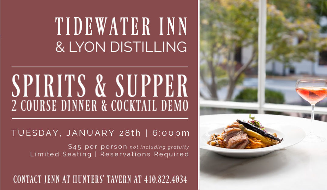 Spirits & Supper with Lyon Distilling