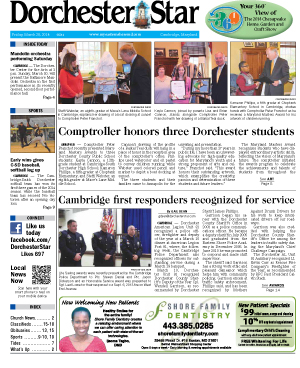 The Dorchester Star frontpage