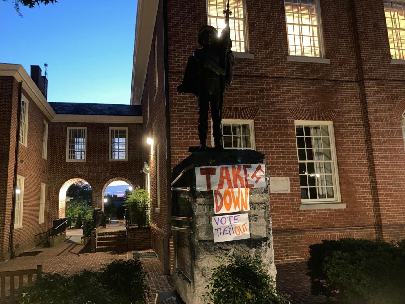 Talbot Boys monument survives calls for removal