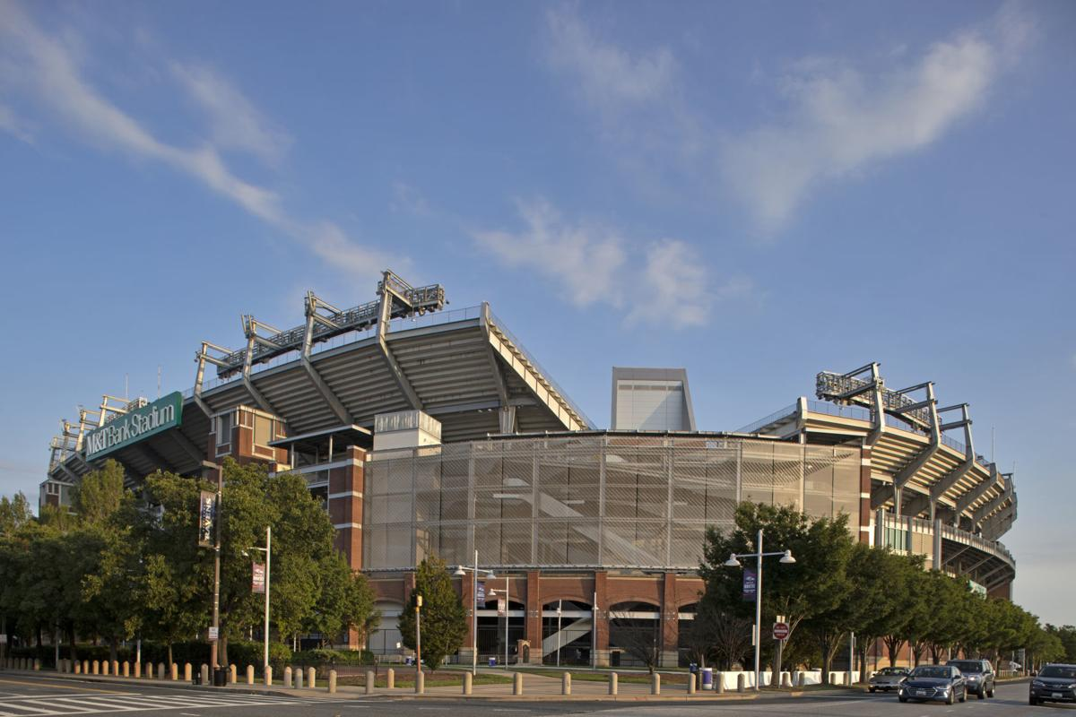 Ravens stadium features Cambridge Architectural metal mesh panels