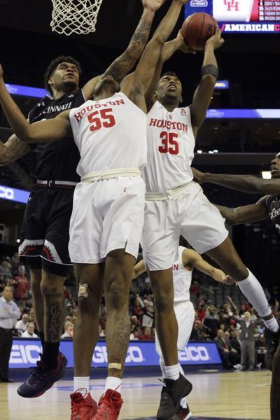 AAC Cincinnati Houston Basketball