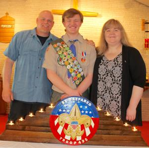Ricky Strucko earns Eagle Scout Award