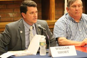 League of Women Voters hosts republican candidates for commissioner at forum