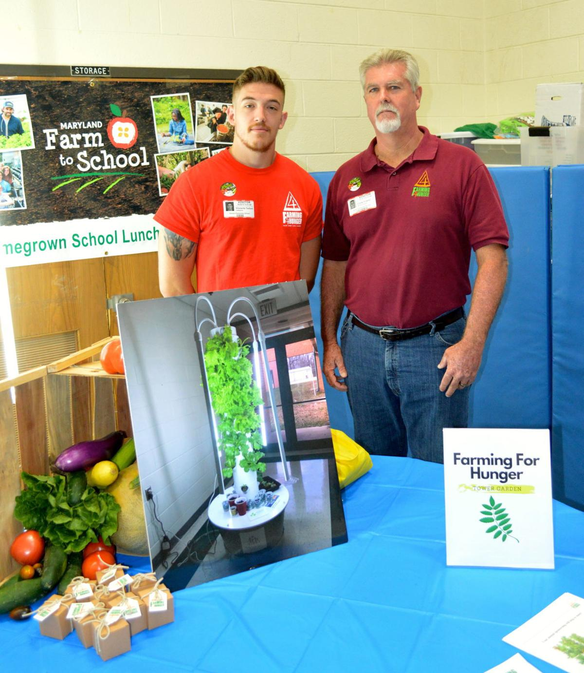 Maryland Homegrown School Lunch Week kicks off at Denton Elementary School