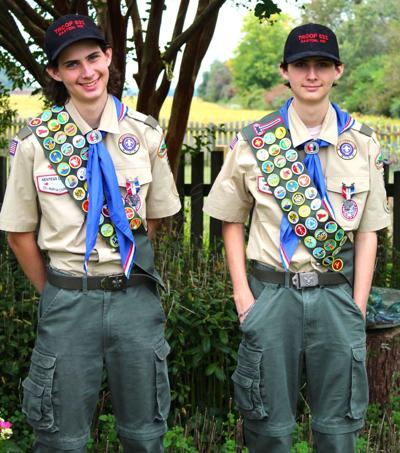 Schmidt brothers earn Eagle Scout rank