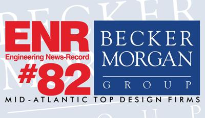 Publication ranks Becker Morgan Group among top Mid-Atlantic design firms