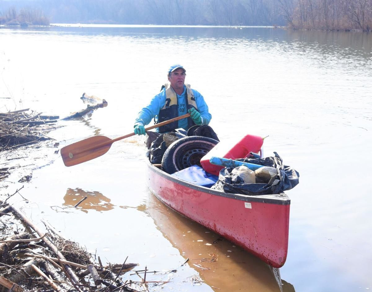 Fighting the plastics plague, one canoe-full at a time