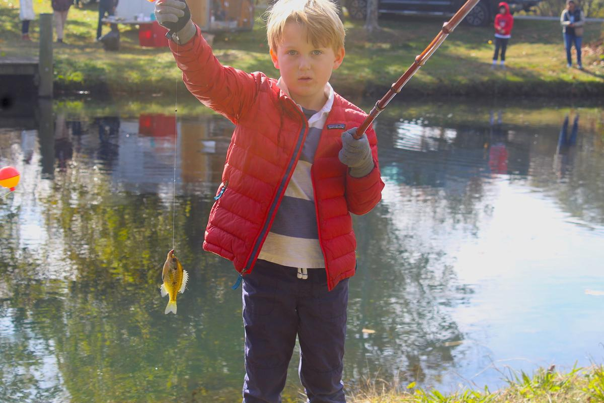 The Kid's Fishing Derby brings family fun to Waterfowl Festival