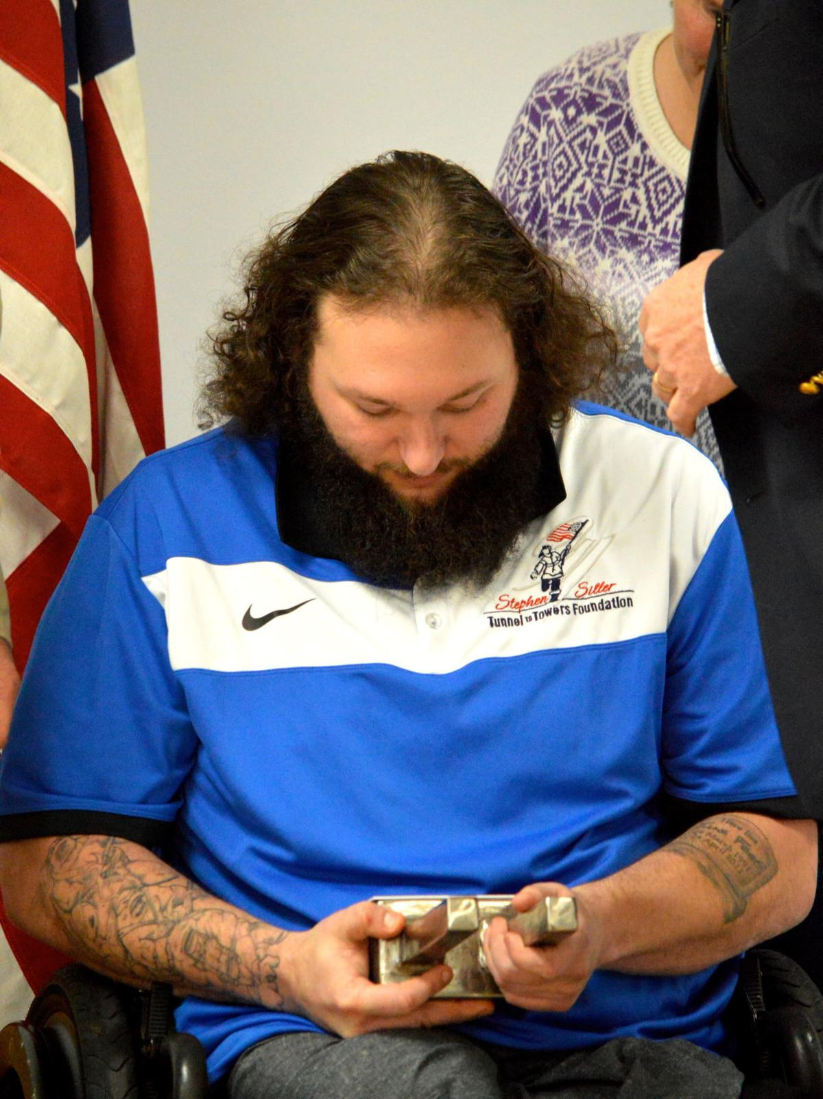 Cpl. Clark Cavalier receives new home from the Stephen Siller Tunnel to Towers Foundation