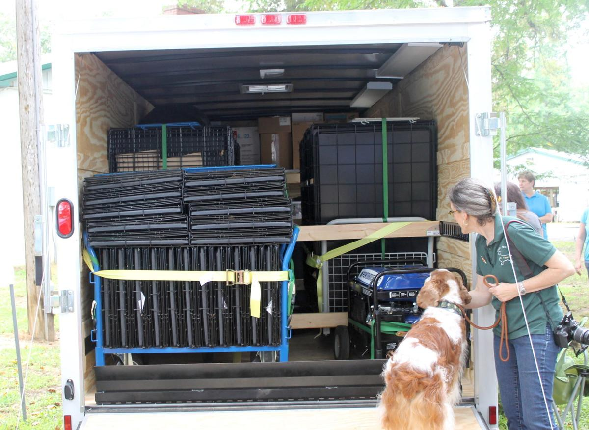 County receives pet disaster relief trailer