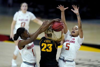 Iowa Maryland Basketball