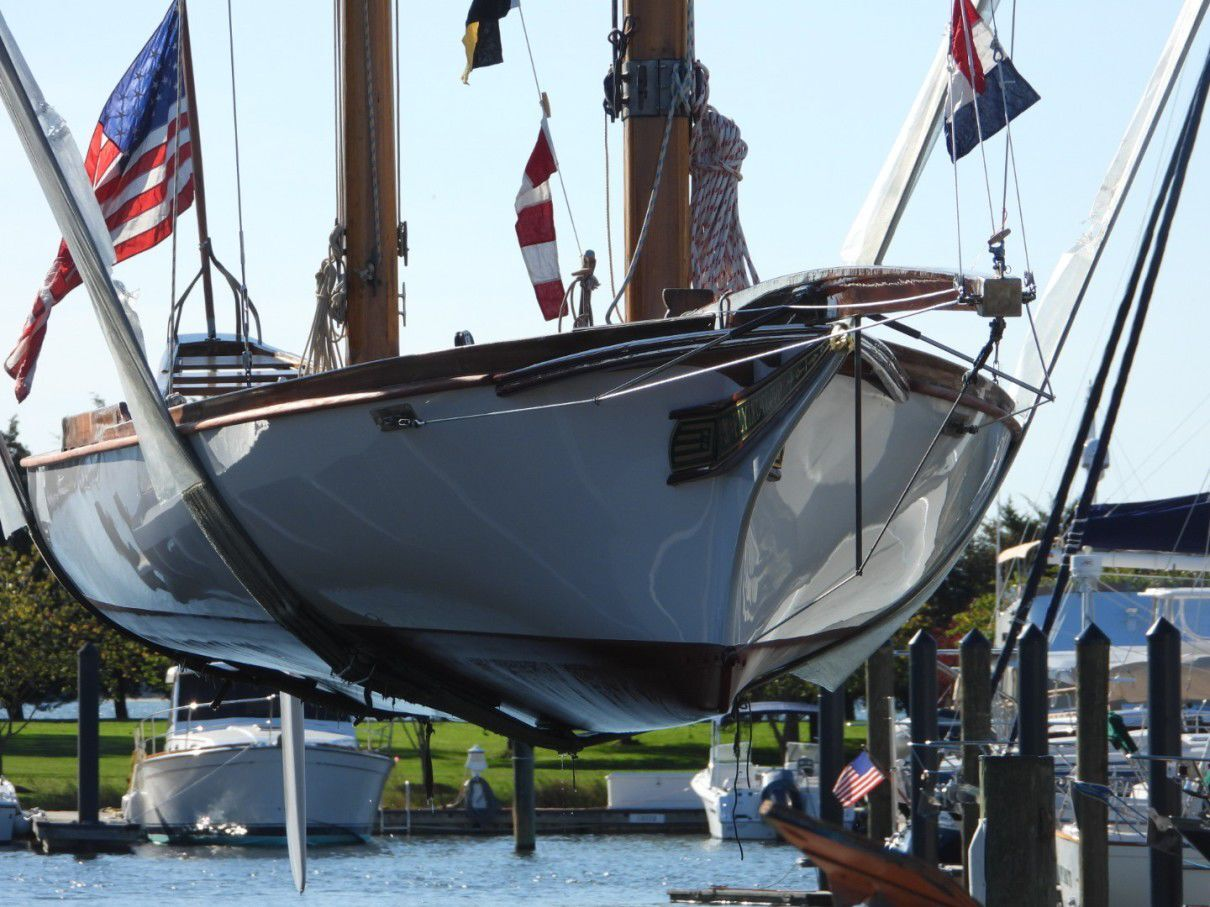Flying Cloud re-launched after restoration
