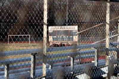 School board considers repairs to Easton High athletic fields
