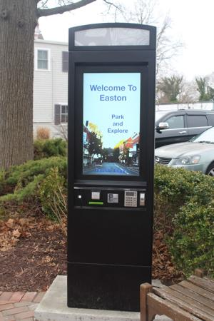 Easton offers new parking meter solutions