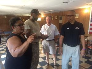 State officials visit Caroline American Legion Post 193