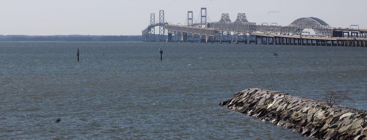Bay Bridge and the Chesapeake Bay