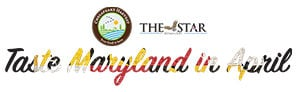 Taste Maryland in April logo