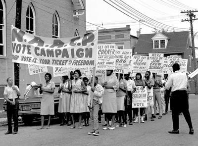 protest against segregation