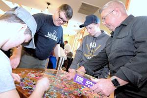 Aha! moments at the Jigsaw Jamboree