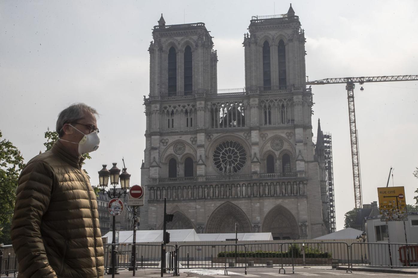 Virus Outbreak Notre Dame France