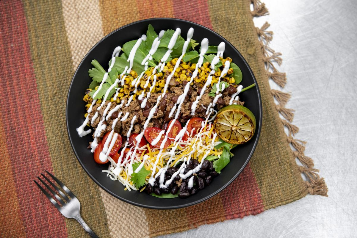 Sprout - southwest turkey taco salad