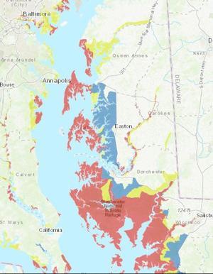 Shore prepares for potential torrential rains