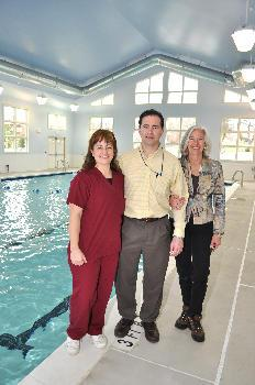 Family of physical therapists opens AquaFit