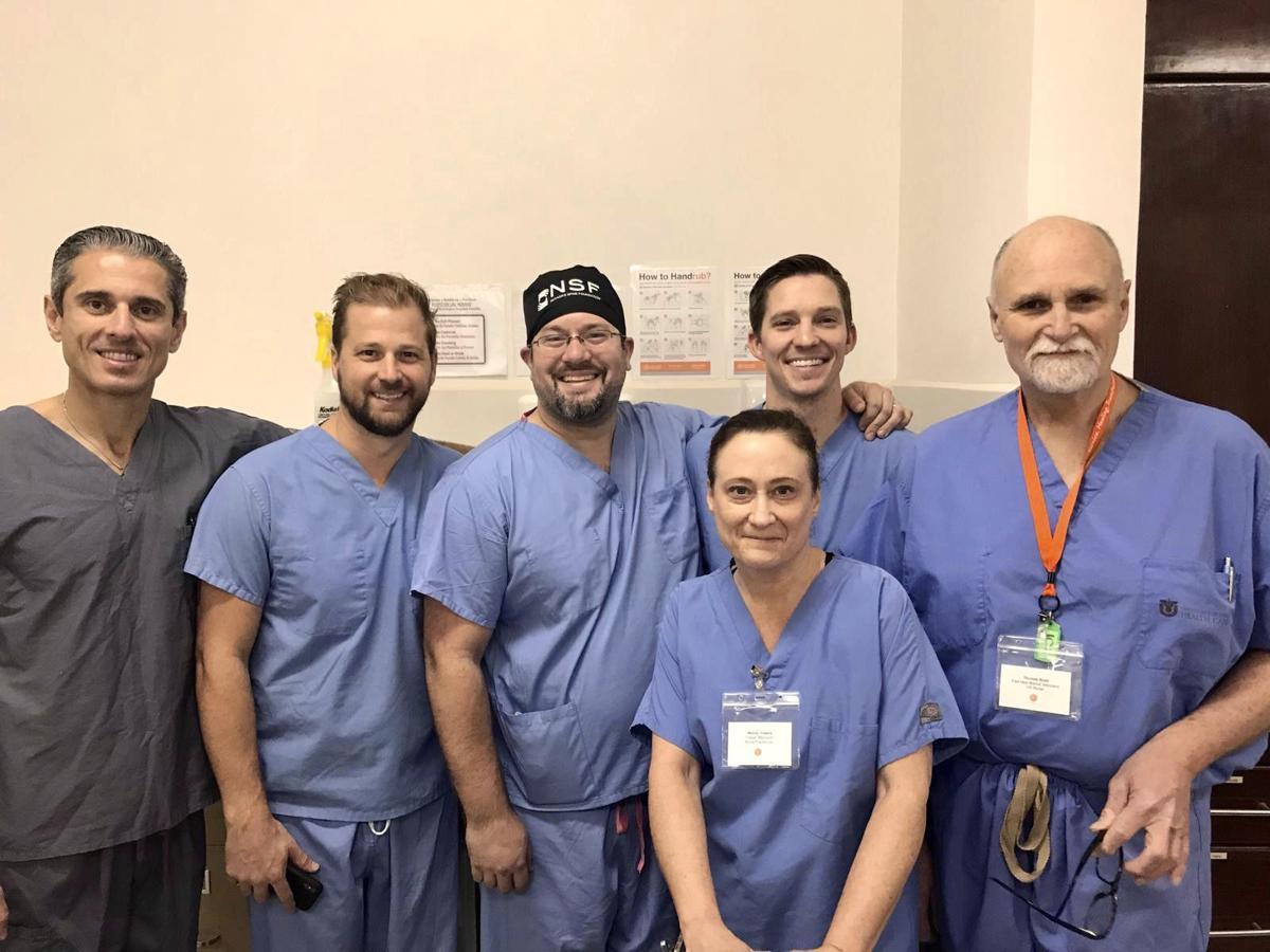 Neurosurgery team back from Honduras mission